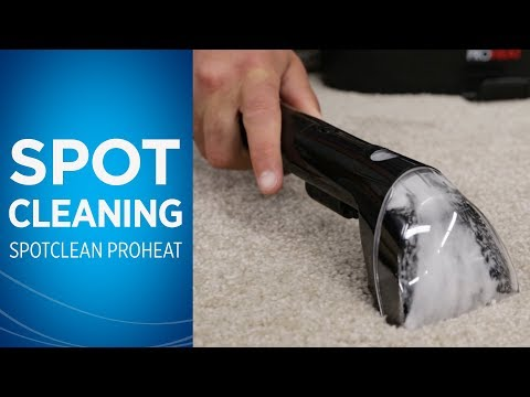 How to Use Your SpotClean Portable Carpet Cleaner