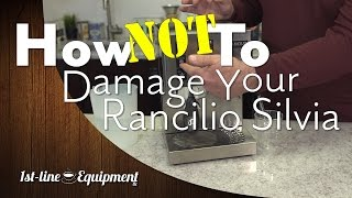 How NOT to Damage Your Rancilio Silvia (& Other Single-Boiler Machines) - Startup Tip