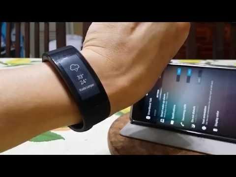 Sony Smartband Talk SWR30 - Test Drive