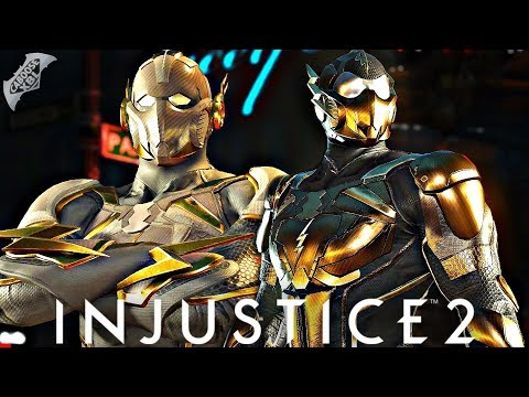 Injustice 2 Online - GODSPEED VS GOLD FLASH!