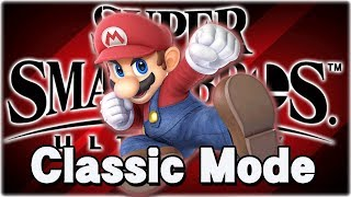Let's Play Super Smash Bros. Ultimate! Classic Mode [MARIO]