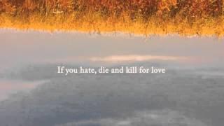 José González - Killing for Love (Lyric Video)
