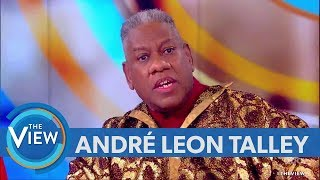 André Leon Talley Weighs In On 'Roseanne' Controversy, Talks Introduction Into Fashion World