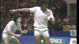 Badminton Yonex Cup Japan open 87 MD F 1st game 2/4
