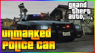GTA 5 Secret Unmarked Police Car! (Rare GTA V Vehicle)