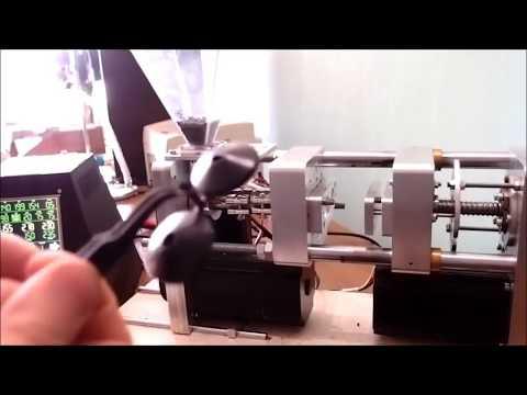 desktop injection molding machine Настольный Мини термопласт тпа