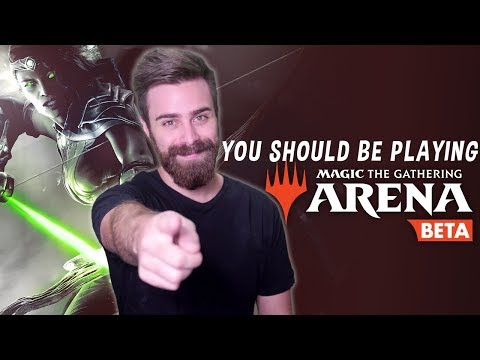 Why YOU Should Be Playing Magic The Gathering Arena! #Ad
