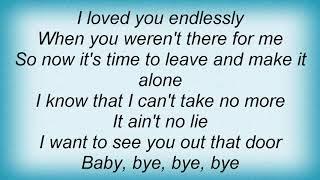 Further Seems Forever - Bye Bye Bye Lyrics