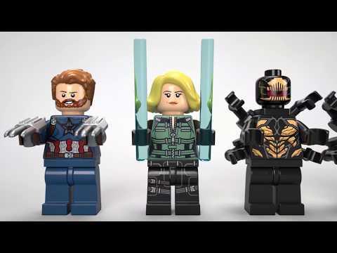 Vidéo LEGO Marvel 76101 : L'attaque du vaisseau par les Outriders