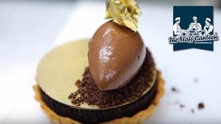 Michelin Star Pastry Chef Luke Butcher Creates Millionaires Chocolate Tart