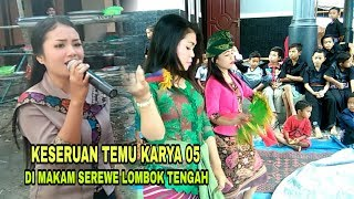 Gambar cover Keseruan personil TK 05 becilokaq di Makam serewe lombok tengah