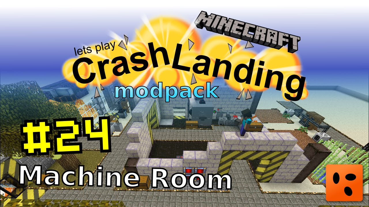 Crash Landing #24 | Machine Room