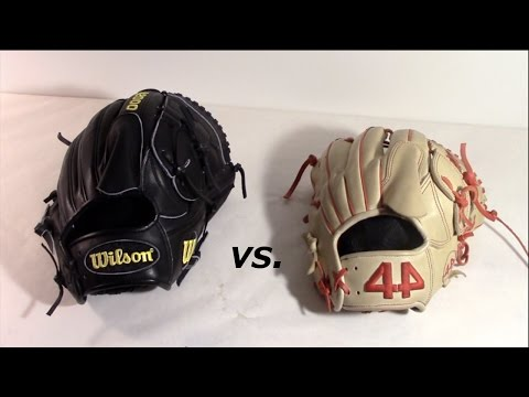 Wilson A2000 vs. 44 Pro Gloves Signature Series!