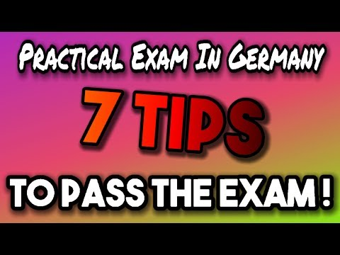 German Driving License - 7 Tips for the practical exam