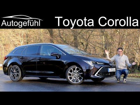 all-new Toyota Corolla FULL REVIEW Touring Sports Estate 2.0 Hybrid 2020 - Autogefühl