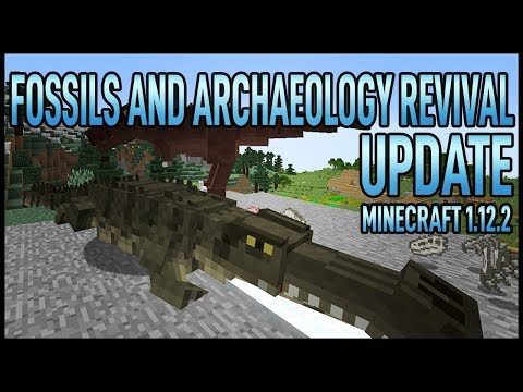 Fossils and Archaeology Revival UPDATE - Minecraft 1.12.2