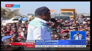 KTN Prime: Deputy president William Ruto tell off the opposition to be prepared to fail in August