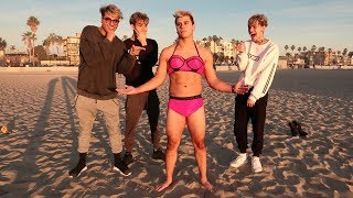 Crazy dares on the beach PART 2!