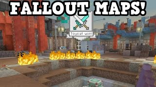 Minecraft Fallout Edition - BATTLE MAPS!