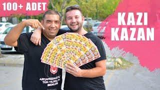 100 ADET KAZI KAZAN KAZIDIK !!