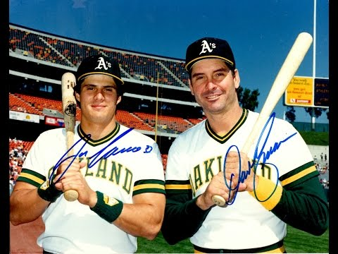 Canseco and Kingman blast Home Runs off Roger Clemens 1986
