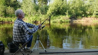 Рыбалка на реке яхрома в апреле
