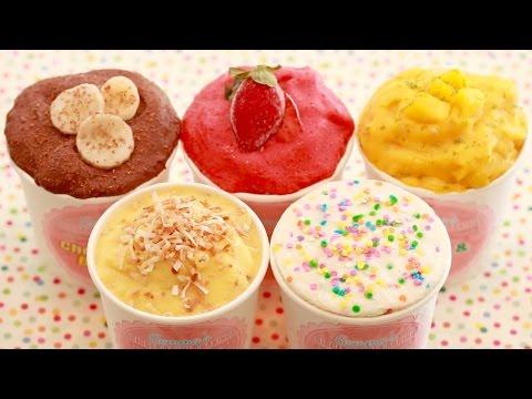 Σπιτικό παγωτό γιαούρτι σε 5 λεπτά