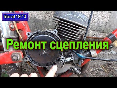Замена диска сцепления двигателя д-6