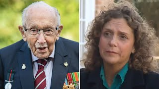video: Captain Sir Tom Moore's daughter says online trolling would have 'broken his heart'