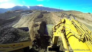 Digging a 25′ deep trench… with PEED Equipment's 5130B!