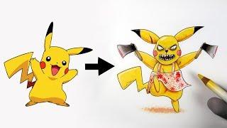 Je Dessine Les Pokémons En Version... Horreur !