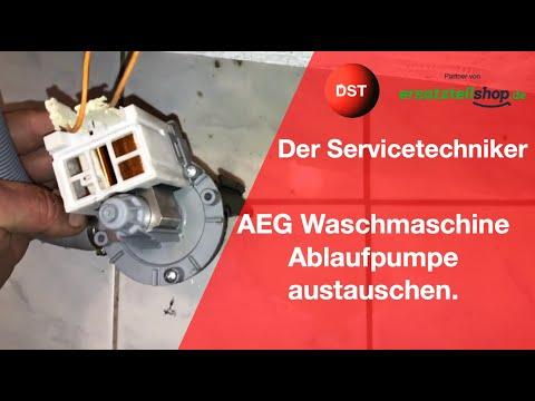 AEG, Zanker, Electrolux Toplader Laugenpumpe wechseln