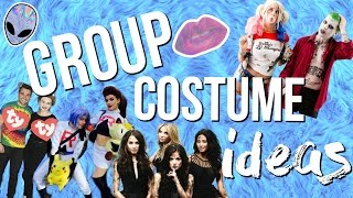 11 Group Halloween Costume Ideas 2016! Last Minute Costume Ideas!