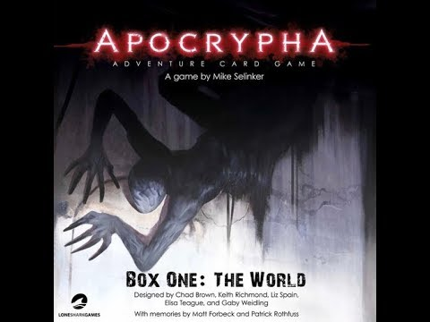 The Purge: # 1664 Apocrypha Adventure Card Game: A reskin of Pathfinder in a horror environment...