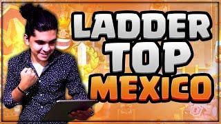 LADDER TOP MEXICO! MAZO GRATIS Y ROTO PARA SUBIR COPAS!! CLASH ROYALE 😱