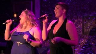 "Bonnie Milligan & Amy Jo Jackson - ""Happy Days/Get Happy"" (Barbra Streisand/Judy Garland)"