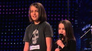 "Six year old Aaralyn Izzy sing ""ZOMBIE SKIN"" on America's Got Talent"