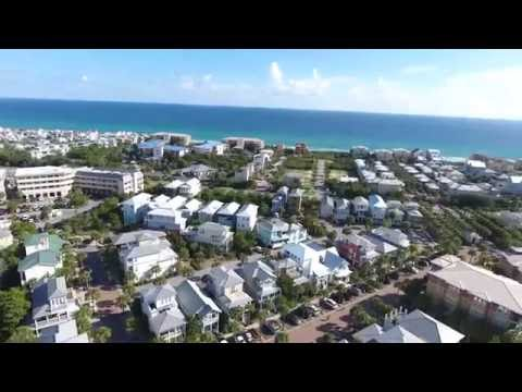30A Seacrest Beach Drone View