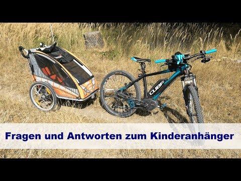 E-Bike-Vlog #17 Fragen und Antworten rund um den Kinderanhänger