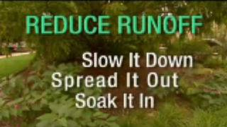 Reduce Runoff Slow it down, spread it out, soak it in