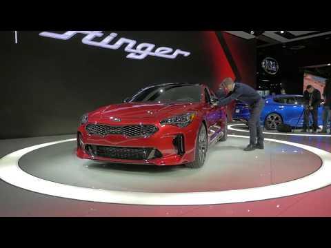 Kia show widebody custom Stinger SEMA Show 2017 Preview