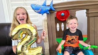 Preston Gets Sick on His 2nd Birthday!!!