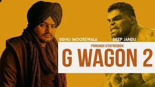 G Wagon Sidhu Moose Wala Whatsapp Status | Punjabi Song Status Video | Hollywood Mix