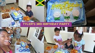 TYLER 3RD BIRTHDAY PARTY IN JAMAICA | JAMAICA VLOG | OUR LAST DAY IN JAMAICA