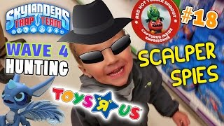 The Scalper Spies in Toys R Us!! Wave 4 Skylanders Trap Team Hunting Part 18 is not a BREEZE!