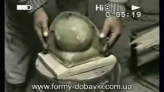 Изготовление крышки столба (колпак с шаром)