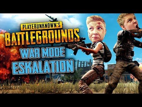 War Mode Eskalation - Playerunknowns Battlegrounds