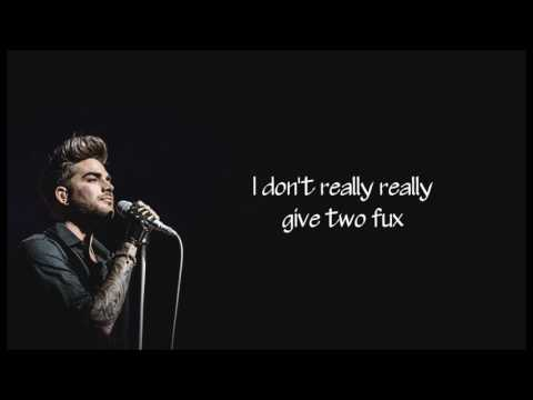 Two Fux Lyrics – Adam Lambert