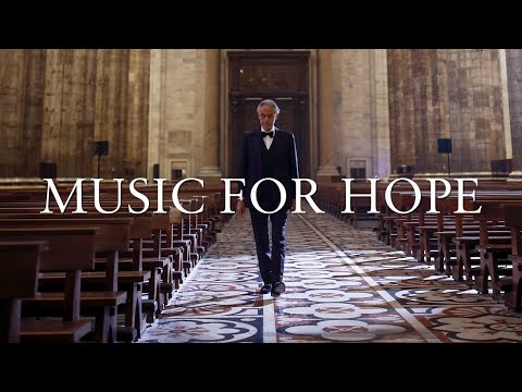 Andrea Bocelli Sings for Hope in Milan's Duomo Cathedral