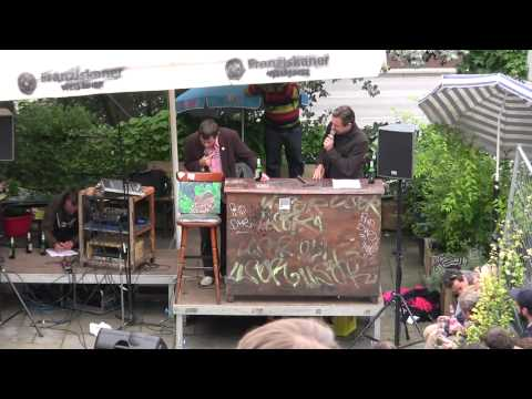 Kunstmarkt gegen Gentrifizierung – Auktion im Pudel